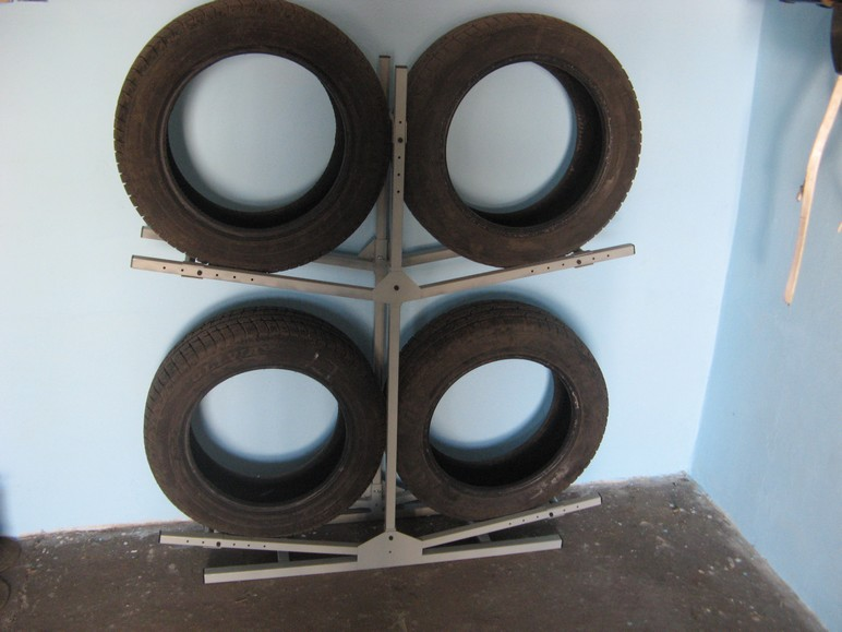 Poważnie Stojaki na koła samochodowe - Syriusz - produkty ze stali. CL75